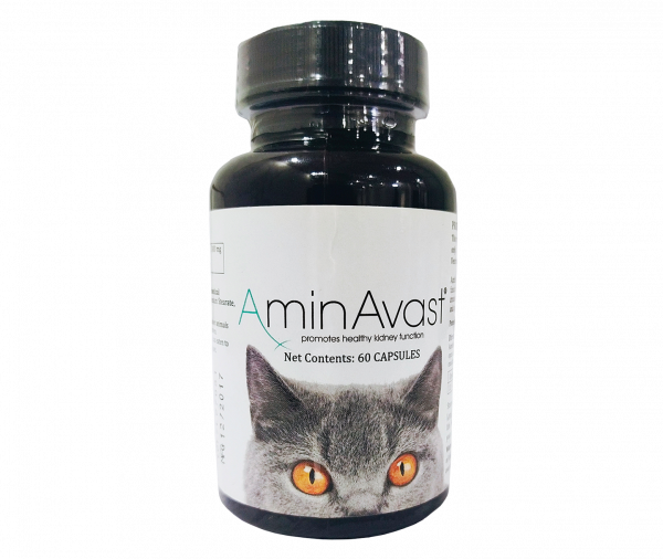AminAvast Kidney Function supplement for Cats